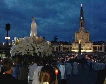 Our Lady of Fatima Cova da Iria at Night
